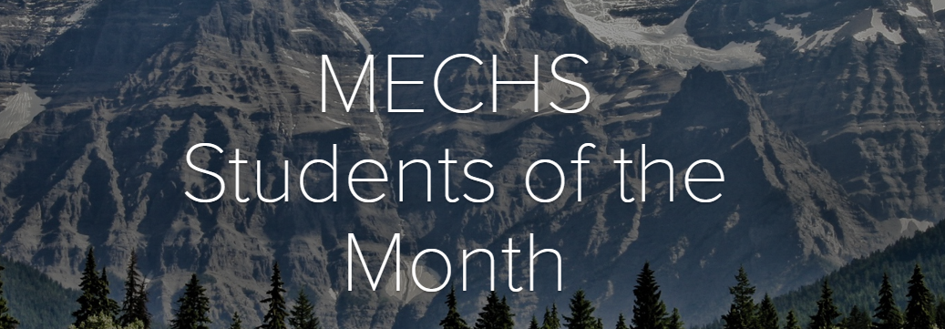 Click to see the Current Students of the Month!